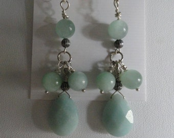 Amazonite Earrings  -  #270