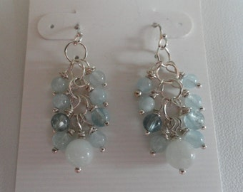 Aquamarine Earrings  -  #289