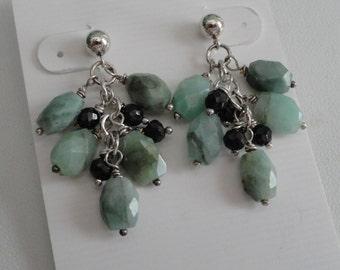 Emerald Earrings  -  #308