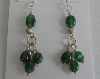 Emerald Earrings  -  #310