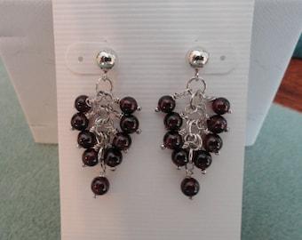 Garnet Earrings  -  #313