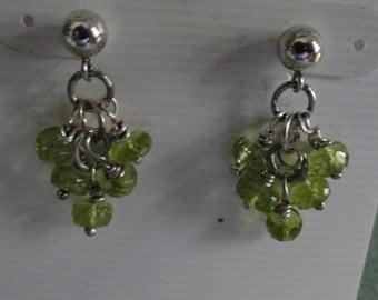 Peridot Earrings  -  #375