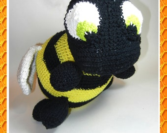Bumble Bee Crochet Pattern