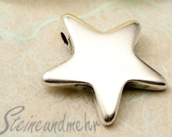 1 x pendant star large antique silver kind. 1360