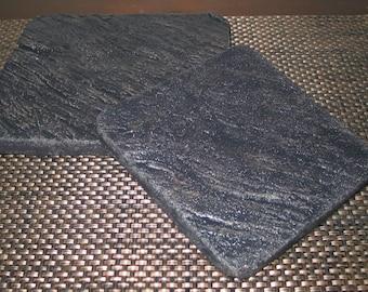 Cement Trivet Large Black