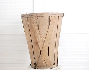 Tall Orchard Bushel Basket