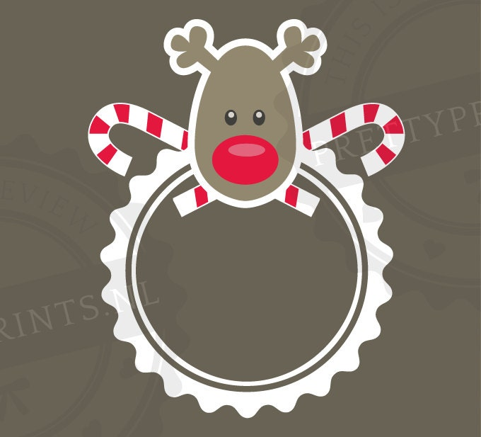 Christmas monogram svg cutting file for by prettyprintsnl for Craft vinyl cutter reviews