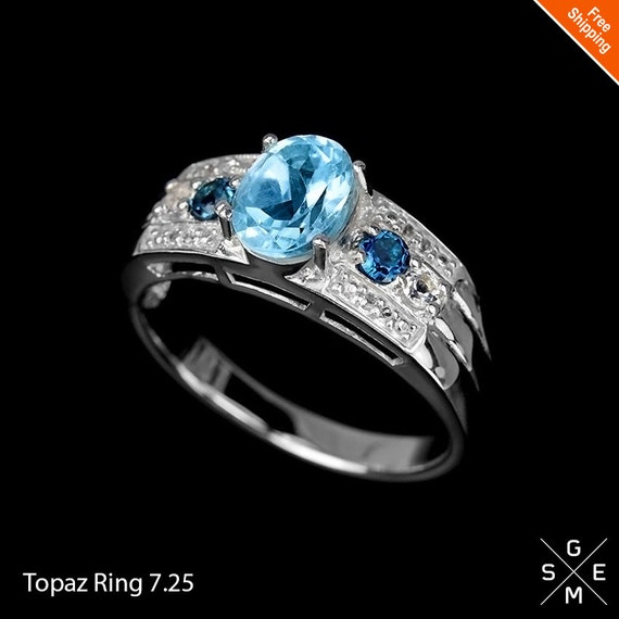 how to tell if blue topaz is real