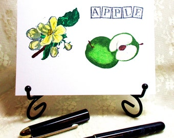 Apple Blank Card