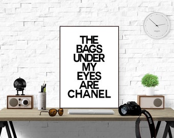 Bags under my eyes etsy for Decor my eyes