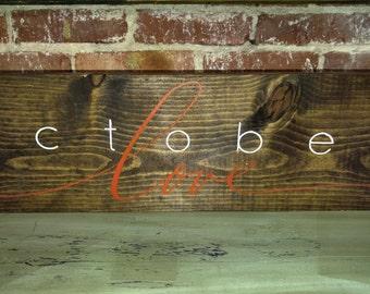 October Love ~ Fall Decor