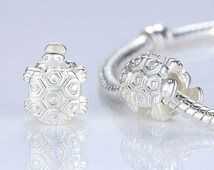 High Quality 925 Silver Sea Turtle Animal Charm Fit Pandora Bracelet Necklace Original Jewelry Women