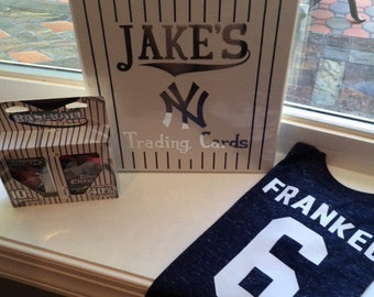 Personalized Yankee Gift Package