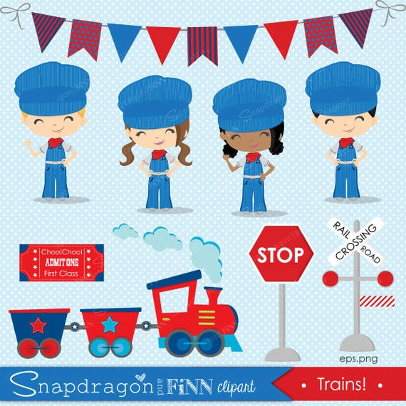 clipart of train conductors - photo #29