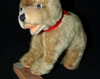 Antique Mohair Standing Teddy Bear