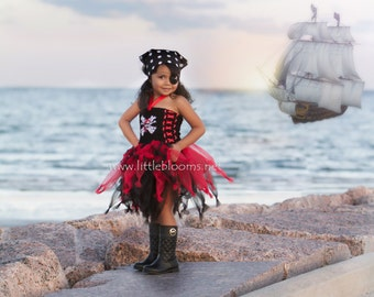 Pirate Tutu, Pirate Costume, Pirate Tutu Costume, Toddler Pirate Costume, Tutu Costume, Pirate Tutu Dress, Pirate Birthday Dress, Tutu Dress
