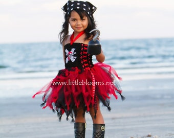 Pirate Costume, Pirate Tutu, Pirate Tutu Costume, Girls Pirate Costume, Tutu Costume, Pirate Tutu Dress, Pirate Birthday Dress, Pirate Dress