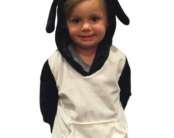 ComfyCamper Super Comfy Halloween Costume Sheep Costume Shaun the Sheep Hoodie Sweatshirt Halloween Costume