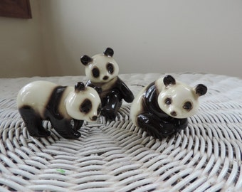 Vintage Panda Bears China Collectibles  by Goebel