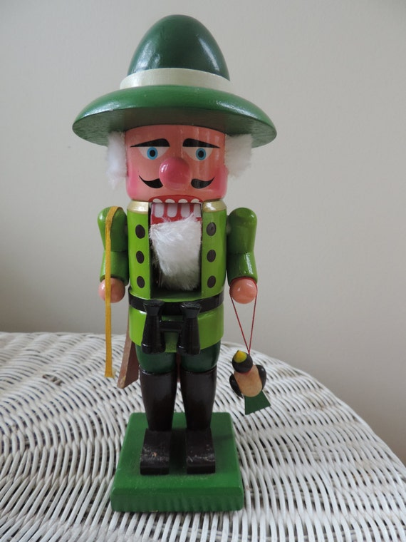 German Nutcracker Hunter/ Woodsman Vintage Hirschmann