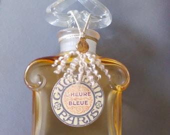 GUERLAIN, the blue hour, dummy, impeccable, bottle sealed, rare.