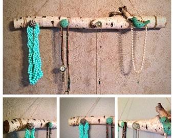 Birch Branch Jewelry Holder
