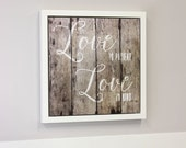 Dry Erase Board - Love Is Kind Open Art