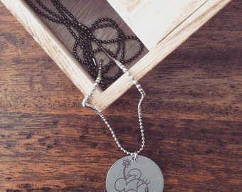 MINNIE Steel Necklace