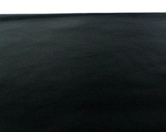 "Black Leather / Pebbled Leather / Black Pebbled Leather / Genuine Leather / Leather Supplies / 12.5"" x 12.5"""