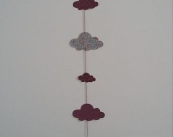 Clouds garland