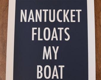 Nantucket screen print