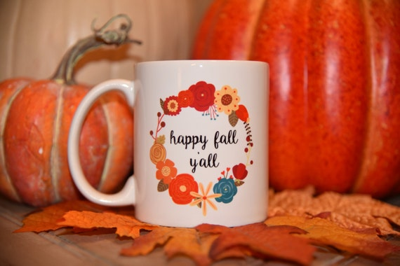 HAPPY FALL YALL Coffee Mug