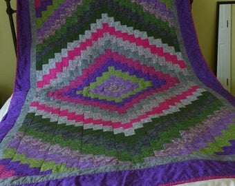 Sale! Bright Twin size Quilt