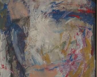 "peinting""MEMORI"",original  acrilic painting,acrilic on cardboard,expressionism,enformel,decoration for home or offis,modern art,"