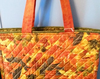 Shimmering Fall Foliage Tote Bag