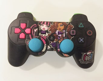 Personalized Playstation 3 Controller - ( Monster High, Frozen, Spiderman and more )