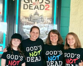 God's Not Dead Adult Vinyl Shirts