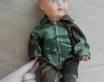 Baby Doll paratrooper 30cm