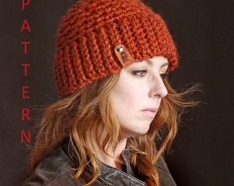 Nº230 Chunky Skullcap Beanie - Crochet PATTERN