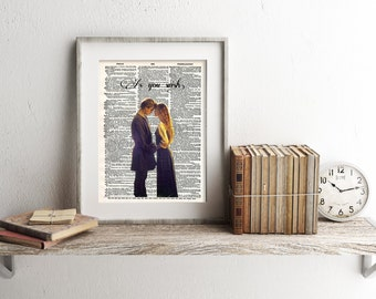 Princess Bride As You Wish Dictionary Art Print