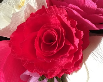 Crepe Paper Flower - Large