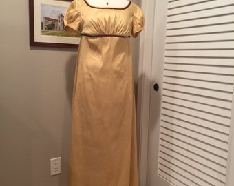 Jane Austen Regency Gown by Iblamejanetoo - size 6