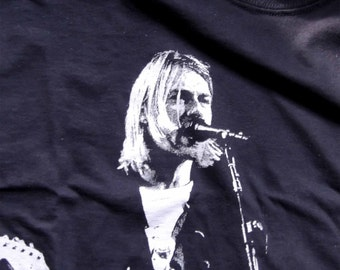 Kurt Cobain T-shirt: Men's & Ladies, S-3XL