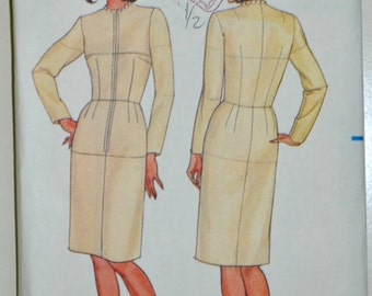 Uncut 1980s Butterick Vintage Sewing Pattern 3415, Size 10; Misses' Fitting Shell