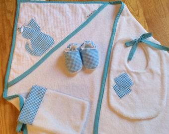 Baby hooded Bath towel