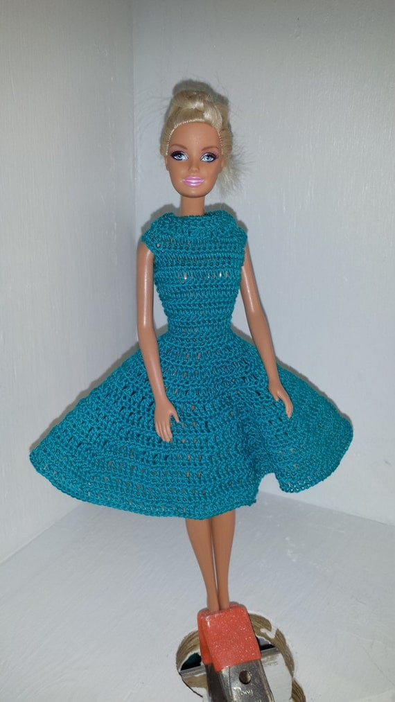 Dress Made Of Barbie Shoes