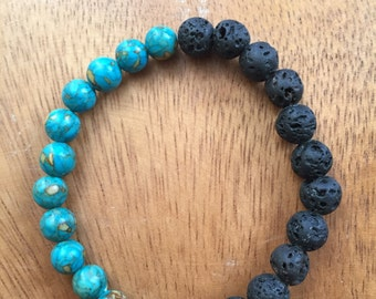 Lava + Aqua Bracelet
