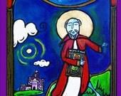 Columcille of Iona, Dancing Monk