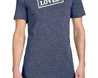 Heather Navy LOVED Tee for Everyone