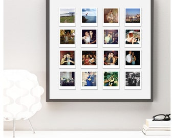Personalised Instagram Polaroids - holiday, honeymoon, special occasion, wedding snaps